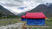 Camp site for lease in Darcha,  Manali,  on the way to Leh Highway