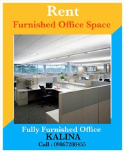 Furnished Office for Rent in Kalian CST Road