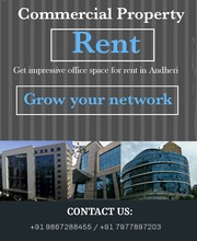 Commercial Property for Rent in Andheri